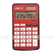 10 dígitos dupla poder mini calculadora de bolso de tamanho com várias cores opcionais (LC360A)