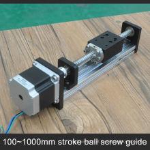 preços de atacado parafuso da esfera guiada cnc trilho de guia linear para o corte