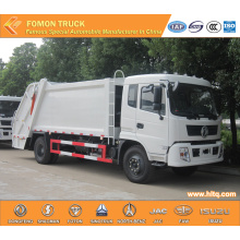 DONGFENG 4x2 12 M3 waste compactor truck