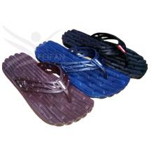 Moda homens PVC praia flip-flop chinelos