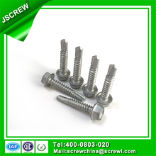 12# Hot DIP Galvanized Hexagon Washer Head Self Screws
