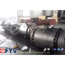 ANSI Full Bored Cast Steel Trunnion Mounted Ball Valve