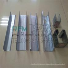 FX luz de acero gauge cu rollo de canal que forma la máquina