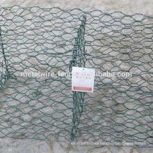 muro de contención de malla de alambre hexagonal con alta calidad