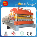 Double Layer Tile Making Machine for Glazed and Dovetail Panels