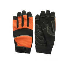 Micro Fiber Padded Palm Mechanic Work Glove--7220