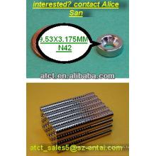 Magnet mit Schraube Loch/Garten Werkzeug Aufhänger/n52 Neodym-Magneten