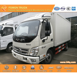 FOTON AOLING 4X2 110hp 8-10tons corrugated iron van truck