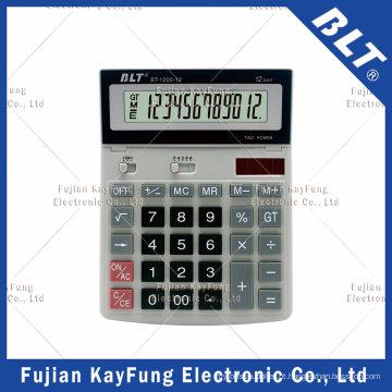 12/14/16 Calculadora de Área de Trabalho de Dígitos para Casa e Escritório (BT-1200)