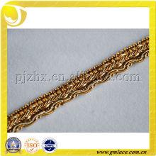 Franja del ajuste de la alta calidad, ajustes de los accesorios de los textiles, franja del gimp, ajuste del dubai