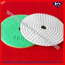 100mm * 3mm almofada de polimento de diamante molhado para pedra de processo