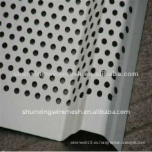 Hoja de Metal Perforada Galvanizada