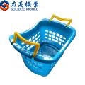 Fabricación de cesta de fruta y verdura mango moldeo por inyección de plástico