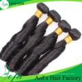Extensão 100% não processada do cabelo humano de Remy do cabelo do Virgin da qualidade superior