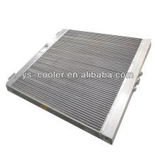 Compagnie professionnel d'échangeurs de chaleur en alliage de plaque en aluminium