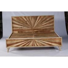 Hochwertiges Bett Design Möbel Holz Doppelbett