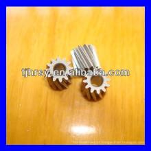 Pequena engrenagem helicoidal de bronze / cobre M0.5