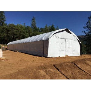 Single span film blackout Light Deprivation greenhouse