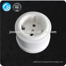 European alumina ceramic wall socket 95 porcelain lamp parts