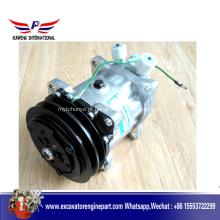 O carregador do SDLG parte o compressor SE5H14 do condicionamento de ar