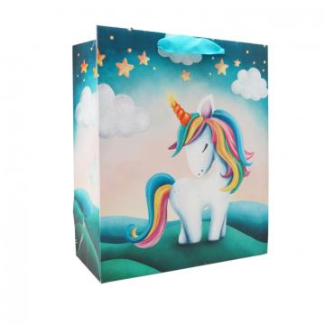 UNICORN PAPER  GIFTBAG 12-0