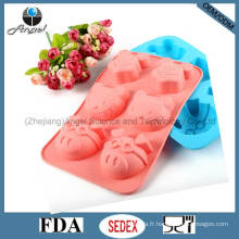Milky Mouse Kitty Pig Shape Silicone Cake Mold Baking Tool Sc23
