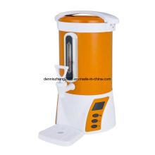 Caldera de agua eléctrico 5-Quart de Winpico y calentador, Interior de acero inoxidable, naranja