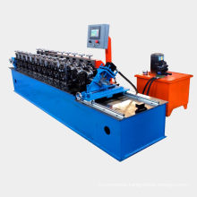 C U channel purlin machine to make drywall light keel steel cold wall angle roll forming machine