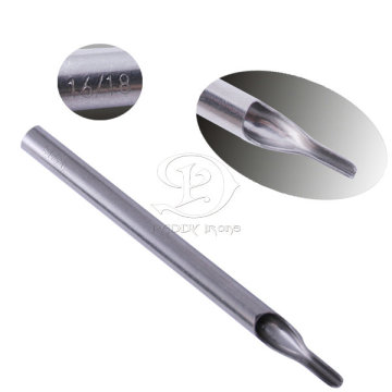 Professional Polishing 304 Stainless Steel Long Tattoo Tip 16-18RT