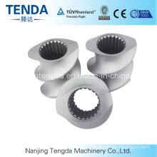 Screw and Barrel for High Quality Plastic Extruder Machine