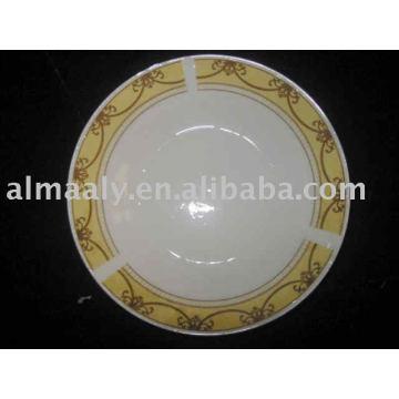 Фарфоровый суп плита керамическая глубокая плита