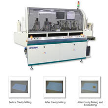 Full Automatic High Speed Contact Bank Card Milling and Chip Implanting Machine (SICMP-03)