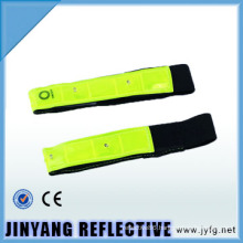 colorful reflective safety the led velcro armband