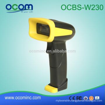 Portable 2D QR code Bluetooth Barcode Reader Wireless Barcode Scanner