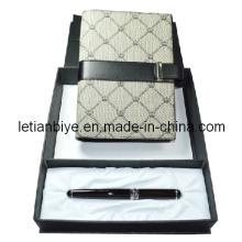 Подарочный набор для ручек, Металлическая подарочная ручка с записной книжкой (LT-C514)