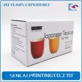 SenCai copo de chá personalizado caixa de papel de embalagem dobrável