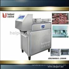 Cortador de carne congelado