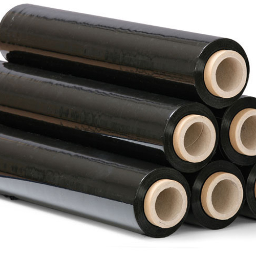 high-tensile-strength-Black-opaque-Stretch-Film