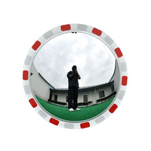JESSUBOND Factory Traffic Safety Acrylic(PMMA) Convex Mirror, Hot Sale Road Safety Equipment Reflective Mirror/