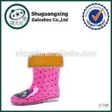 водонепроницаемой обуви дождевик для детей дождя сапоги завод зимой/C-705