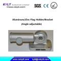 Aluminum Angle Adjustable Flag Holder/Bracket