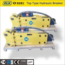 máquina do disjuntor do kobelco, martelo hidráulico do kobelco SK80
