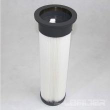 Cartucho de filtro de bolsa plisada superior de PU