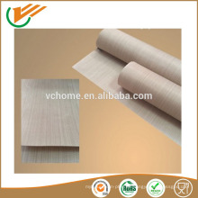 Los nuevos productos 2015 de la venta caliente producto innovador PTFE cubrieron la tela de la fibra de vidrio, tela caliente de la fibra de vidrio de la venta PTFE revestida