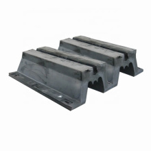 Durable m type rubber fender deers for port and dock