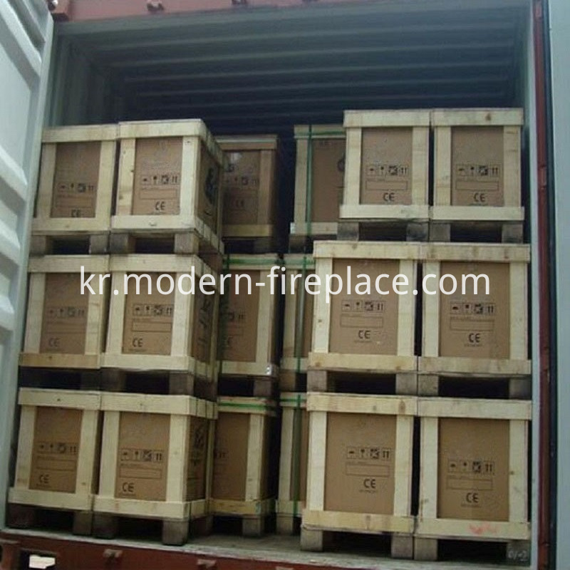 Free Standing Wood Stove Factory Packaging