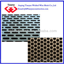 Low carbon steel perforated/punched metal sheet