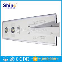 70W todo en una luz solar de la calle / lámpara Luz de calle solar integrada CE / ROHS / IP66 aprobado