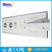 70W tudo em uma luz de rua solar / lâmpada luz de rua solar integrada CE / ROHS / IP66 aprovado