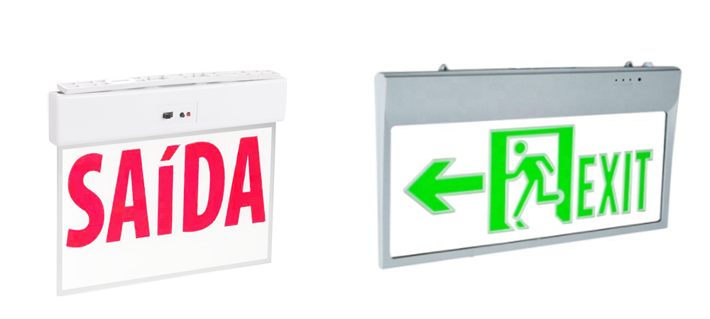 Exit Sign For ABS And Acrylic